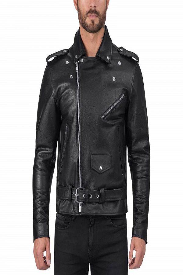 trending men biker jacket