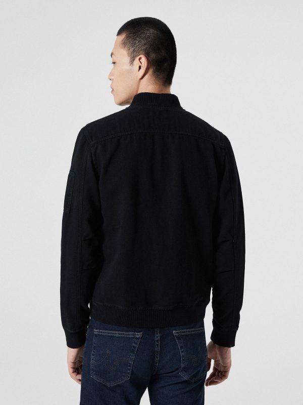 men black college jacket