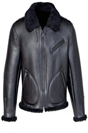 trending shearling jacket
