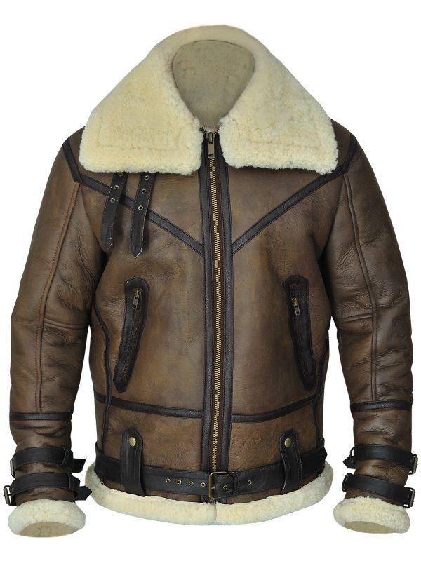 men b3 shearling jacket