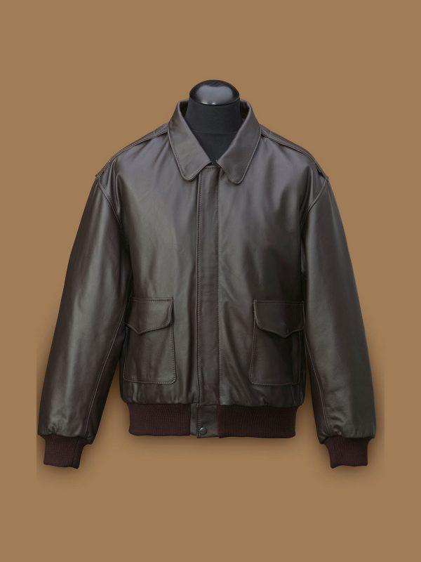 men a2 aviation leather jacket