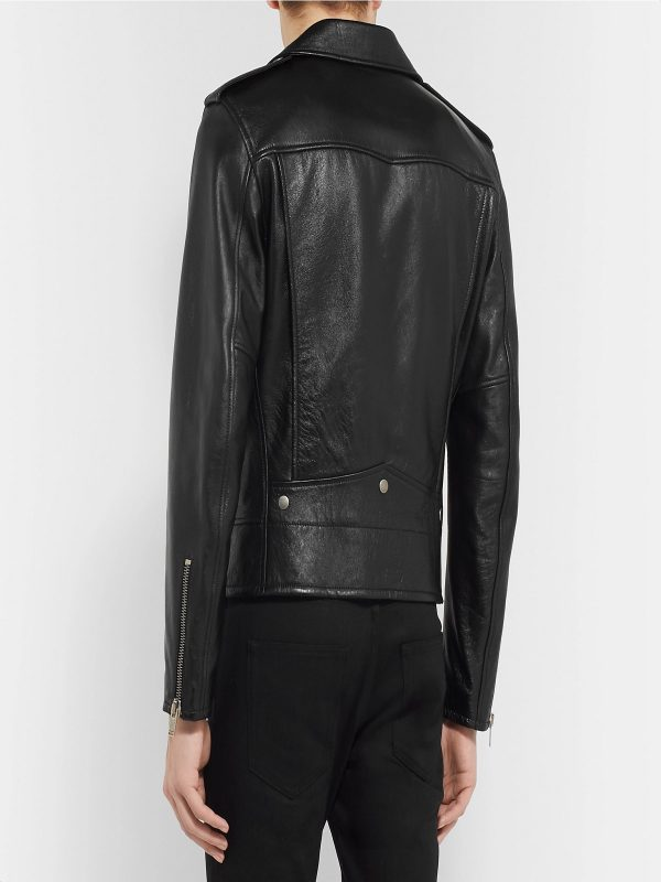 trending men black jacket