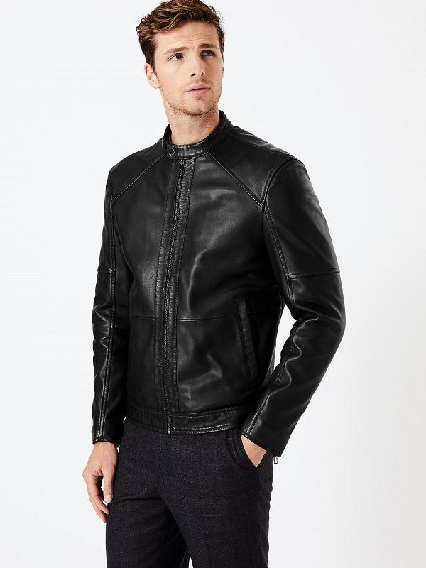stylish biker jacket for men