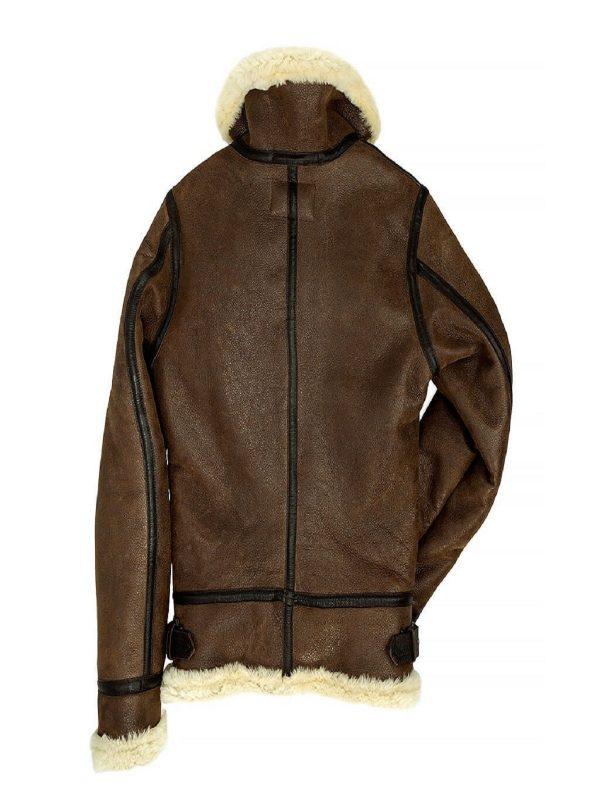 women b3 shearling leather jacket