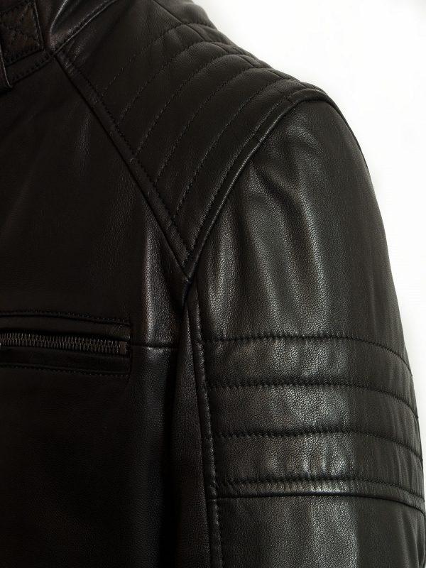 men pure leather jacket