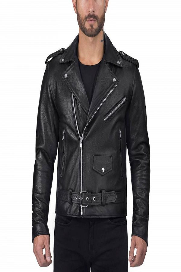 trendy men black jacket