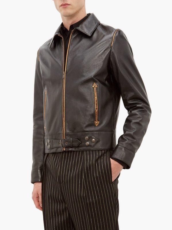 men black brando jacket
