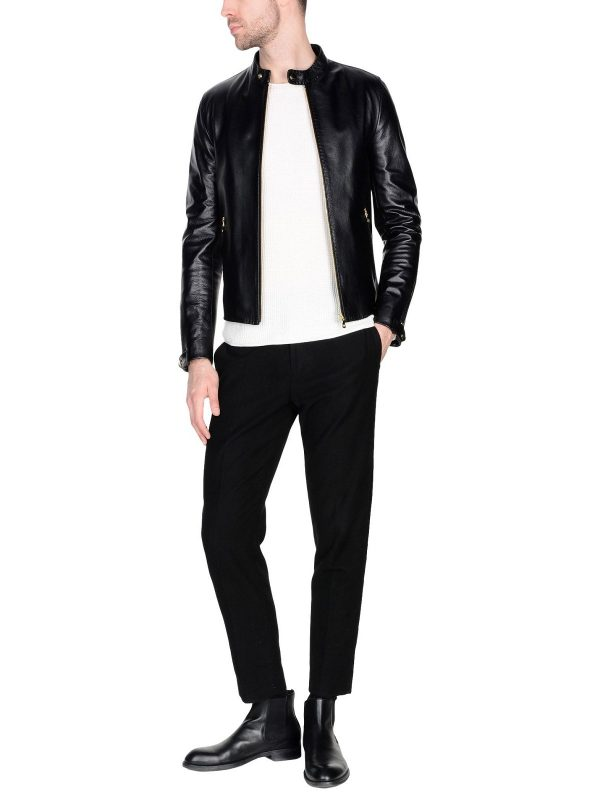 men black trendy jacket