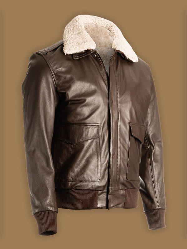 men b2 shearling jacket