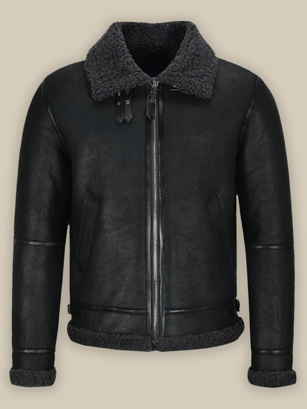 men air force shearling jacket