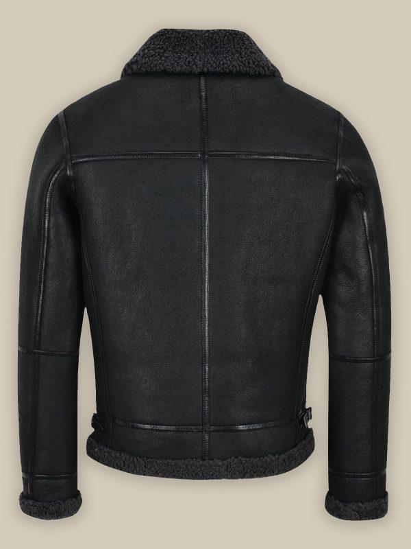 trending men black air force jacket
