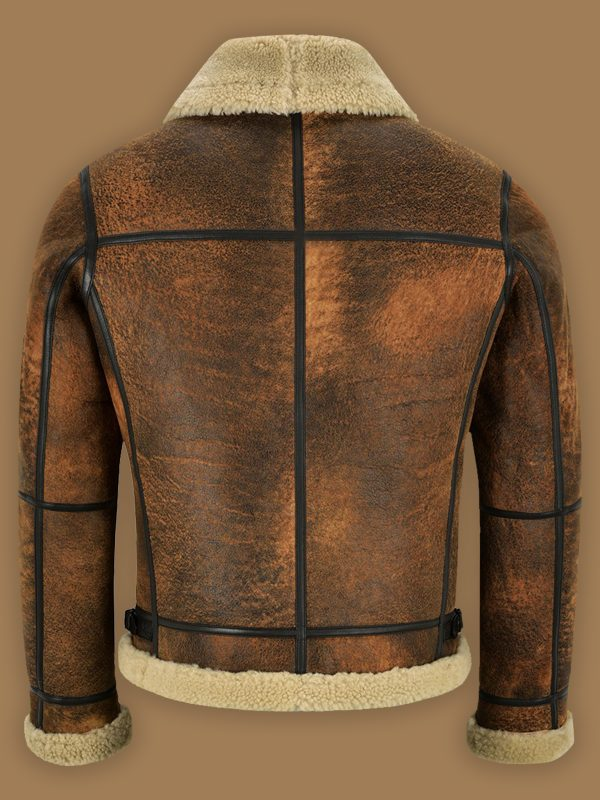 men trendy brown jacket