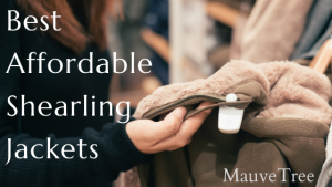 fashion blog shearling jacket - mauvetree