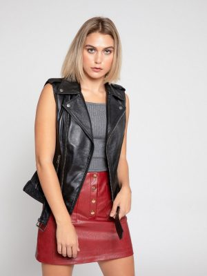 women black vest