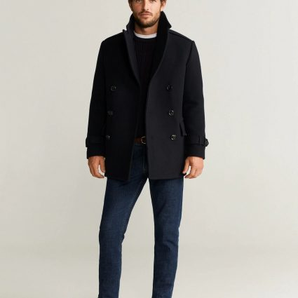 men pitch black trench