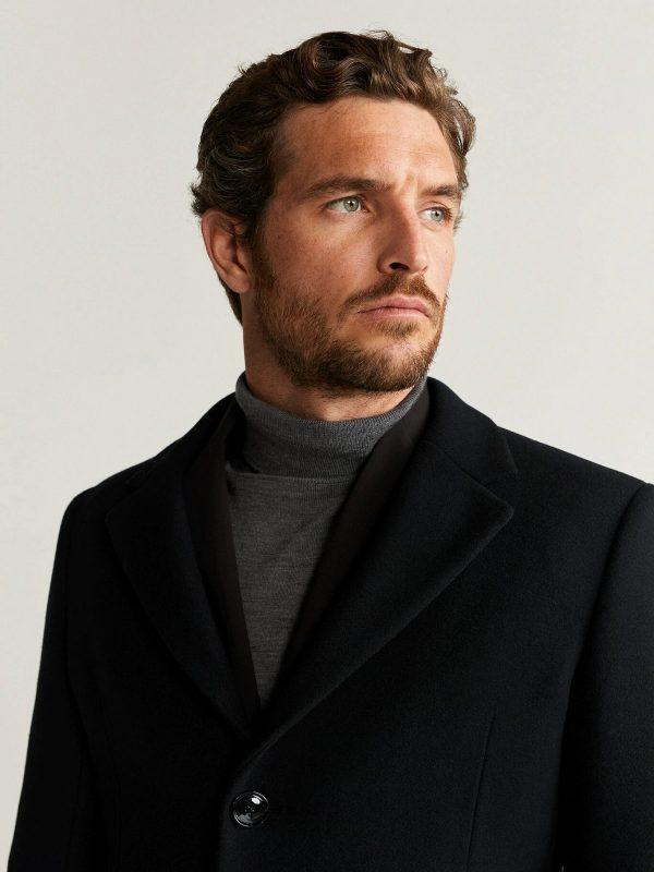 men black long coat