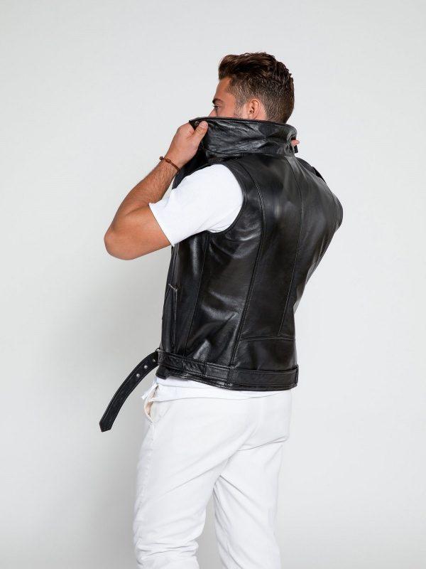 men biker vest