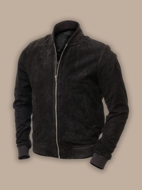 trending men suede jacket