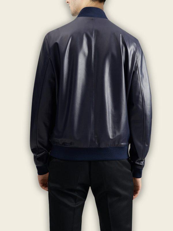 trending men blue bomber jacket
