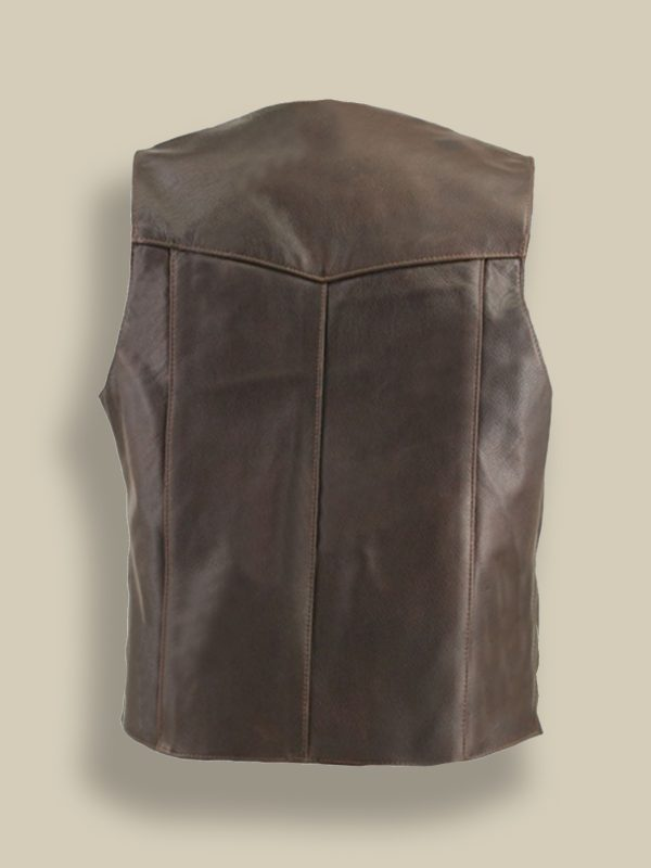 men brown vest