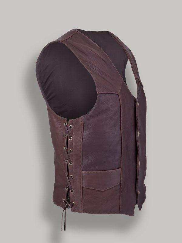 men red wine vest
