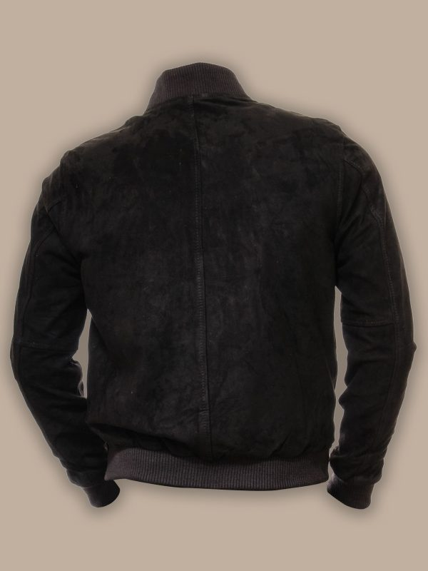 men bomber leather jacket