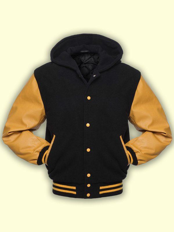men college wool varsity jacket