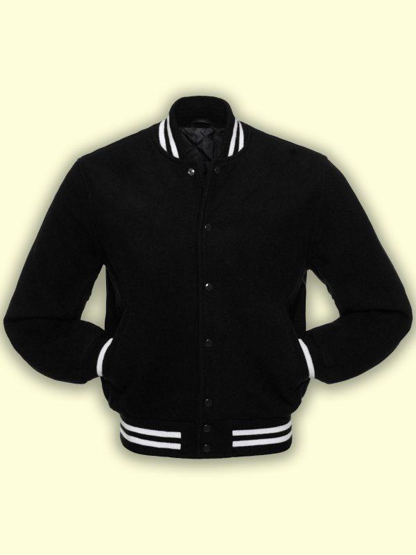 men black college varsity jacket