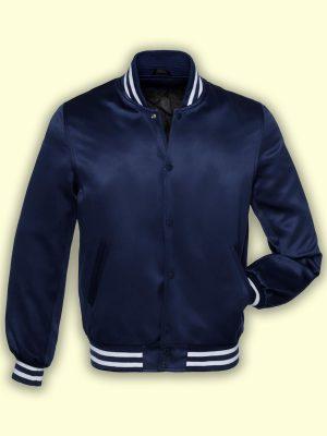 men blue fleece jacket