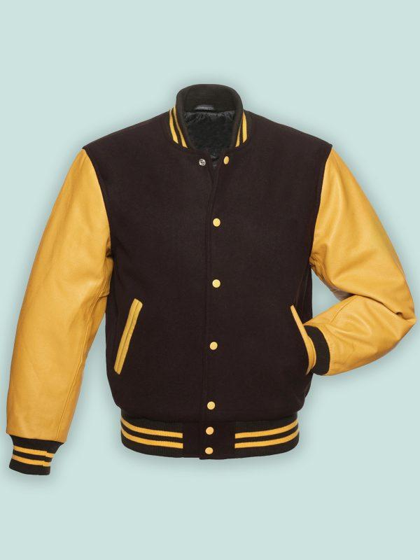 trending men varsity jacket