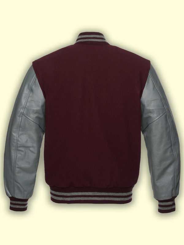 trending men wool varsity jacket