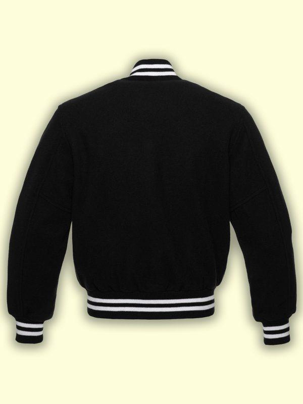 men black varsity jacket