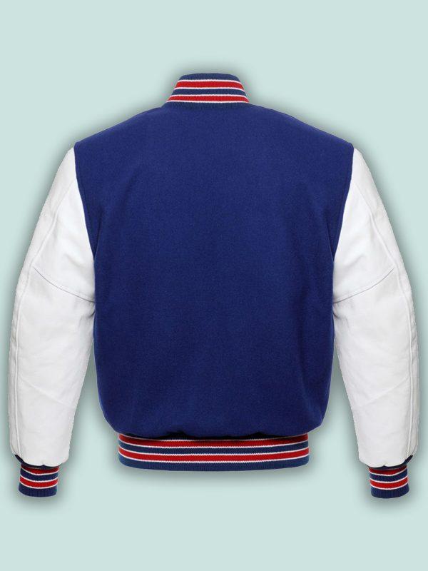 royal blue varsity jacket for men