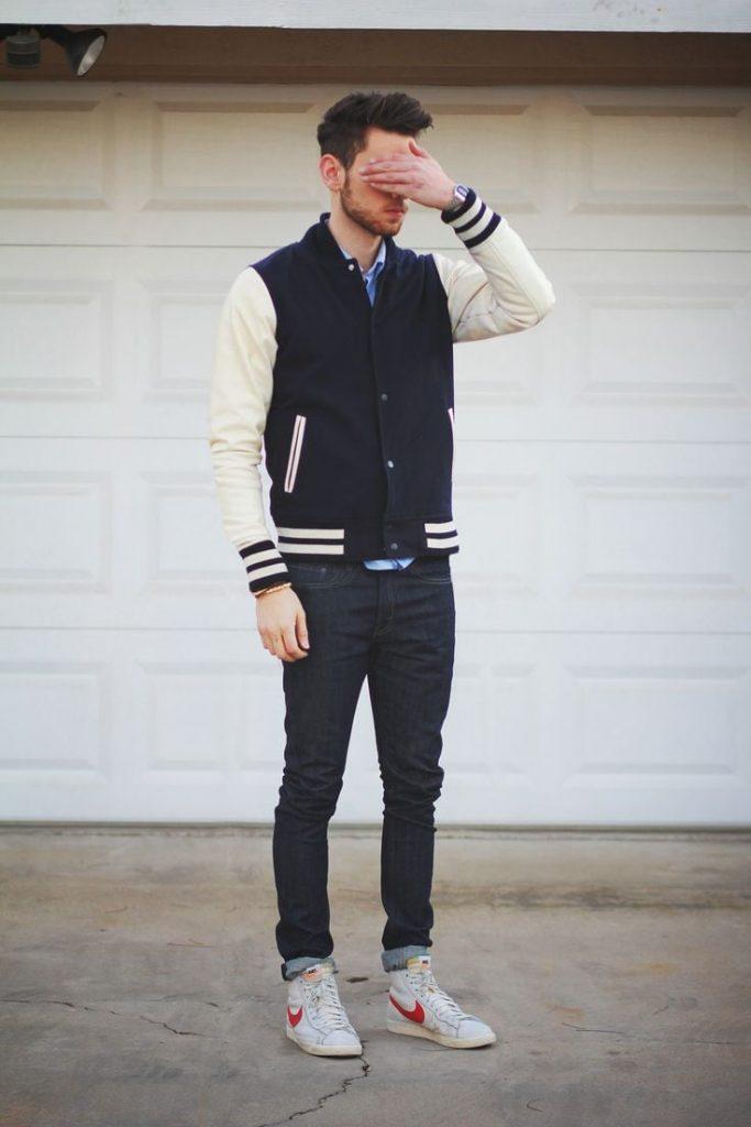 Varsity Lettermen Jacket