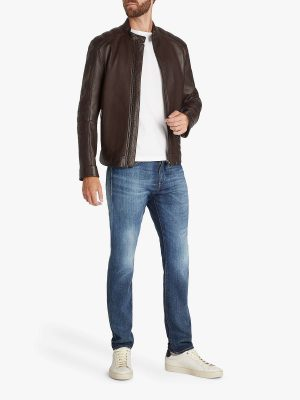 stylish men brown jacket