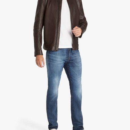 stylish men brown jacket