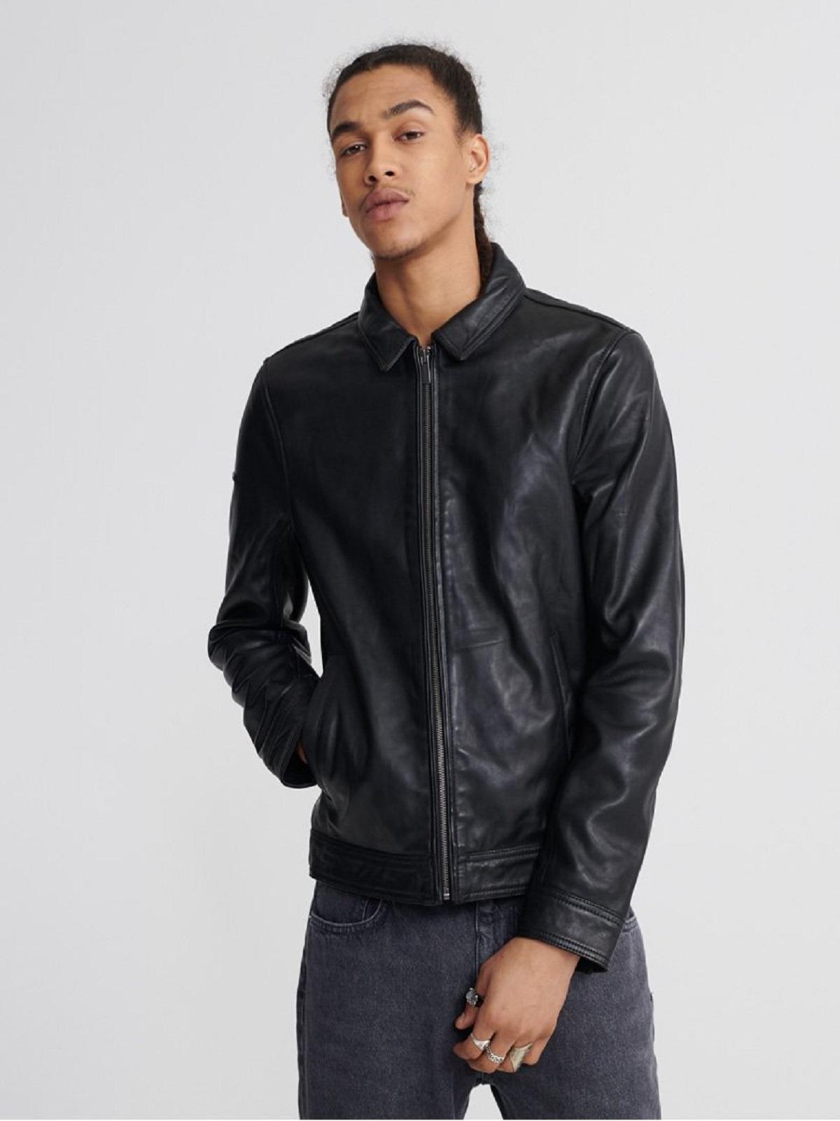 Casual Leather Jacket For Men | Men Jacket | MauveTree