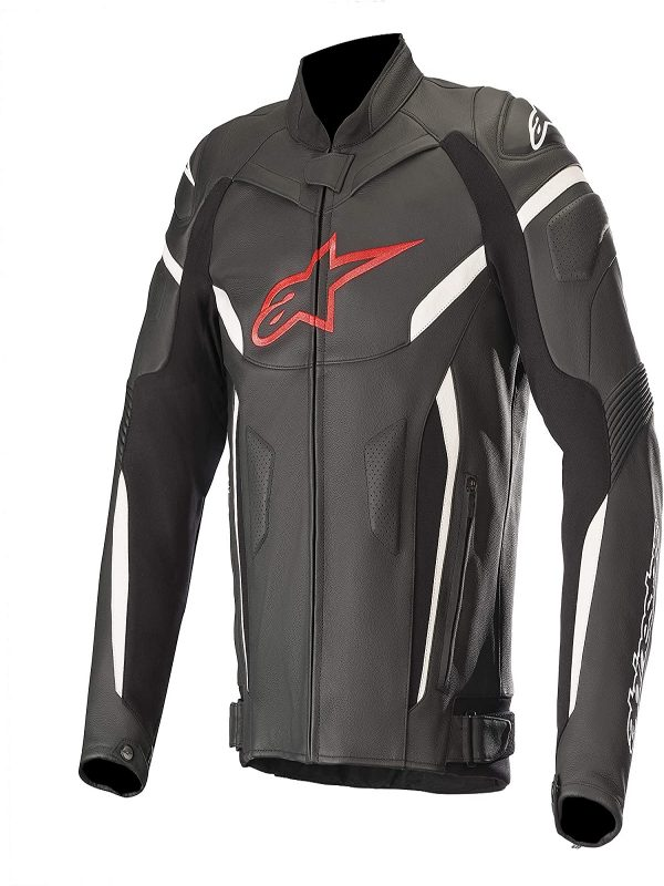 alphinestar motorcycle leather jacket for men