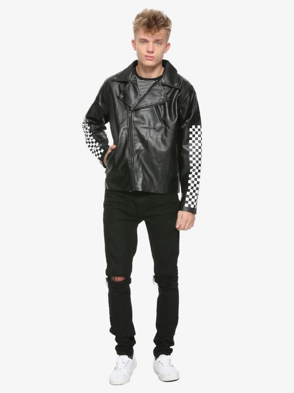 men stylish checkered jacket
