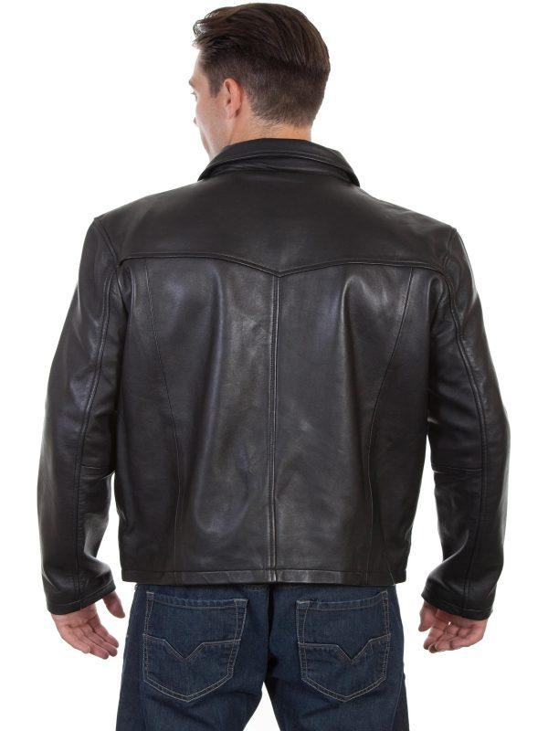 western leather jacket for men