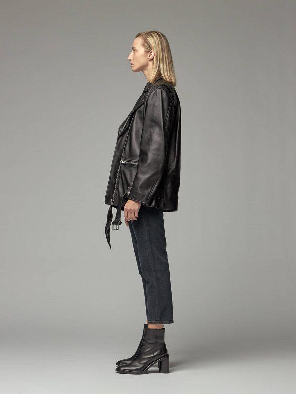 women black jacket