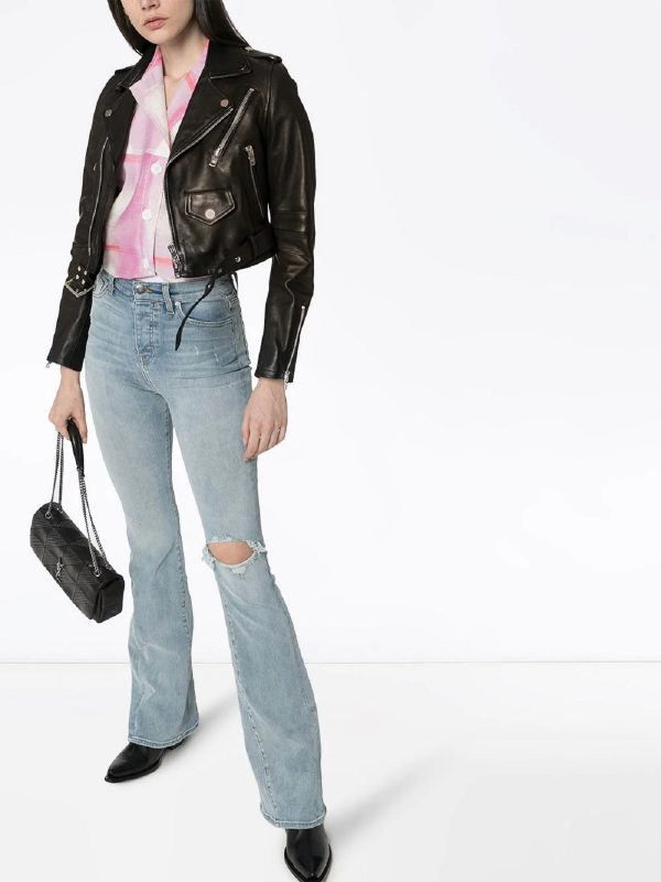 trending women leather jacket