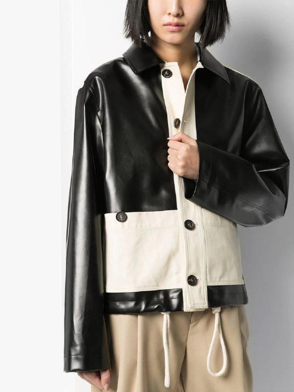 stylish two toned jacket for women