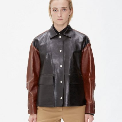 fashioned two tone jacket for women