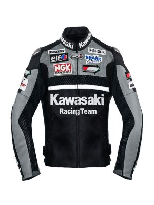 stylish racing leather jacket