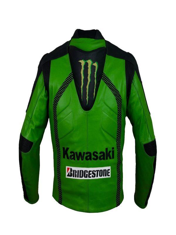 men black racing leather jacket