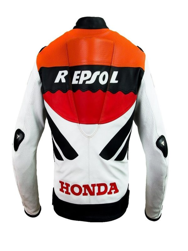 honda repsol leather jacket for men