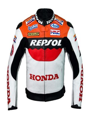 honda racing leather jacket