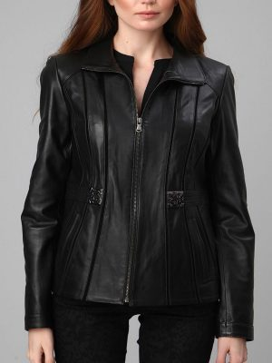 trending biker jacket for women