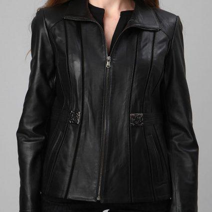 trending biker jacket for women